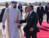 ملك الأردن يجرى اتصالا مع الشيخ محمد بن زايد حول تخريب السفن