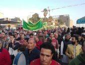 فيديو وصور.. المرور يغلق شارع الأزهر استعدادا لزفة المولد وانتشار قوات التدخل السريع