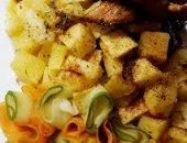 طريقة عمل البطاطس بصوص الصويا من المطبخ اليونانى