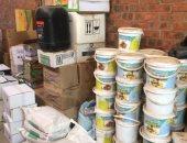 ضبط 10 أطنان أسمدة مجهولة المصدر بمخزن مواد زراعية فى المنوفية