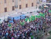 مسيرة حاشدة للطرق الصوفية بمسجد الحسين احتفالا بالمولد النبوى