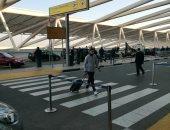 وصول بعثة الأهلى لمطار القاهرة استعدادا للسفر إلى الإمارات