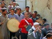مسيرة للطرق الصوفية ببنى سويف احتفالا بالمولد النبوى