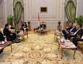 """صور.. أجندة حافلة لـ""""رئيس النواب"""" اليوم.. 5 لقاءات بينها نائب رئيس برلمان المجر"""