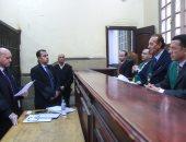 صور.. بدء جلسة محاكمة المتهمين فى قضية التمويل الأجنبى محكمة عابدين