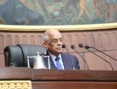 """رئيس البرلمان يشرح لـ""""وفد كلية الدفاع بالإمارات"""" كيف نجحت مصر فى مواجهة الإرهاب"""