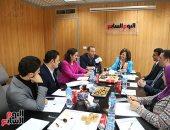 """""""اليوم السابع"""" ينظم ندوة للوفد البرلمانى المصرى بعد زيارته لبريطانيا.. صور"""