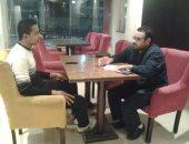 صور.. رئيس اتحاد طلاب جامعة أسيوط: حلمى أبقى رئيس وزراء مصر