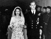 زفاف الملكة إليزابيث وفيليب.. قصة أطول زفاف ملكى فى بريطانيا قبل 71 عام