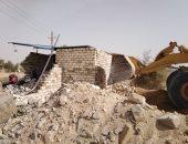 حى الهرم ينظم حملة لإزالة تعديات المنطقة الأثرية أمام أبو الهول