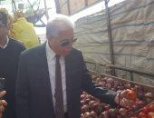 صور.. محافظ جنوب سيناء يفتتح منفذ الخضر والفاكهة بطور سيناء