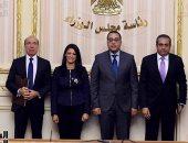 """صور.. رئيس الوزراء يشهد توقيع بروتوكول تعاون مع منتجعات وفنادق """"NIKKI BEACH"""" العالمية"""
