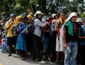 انطلاق قافلة مهاجرين من السلفادور أملا فى الوصول إلى الحدود الأمريكية