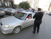 ضبط 3562 مخالفة مرورية بمحاور و ميادين الجيزة خلال 24 ساعة