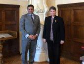 """سفير مصر لدى صربيا يبحث مع رئيسة جامعة بلجراد تدريس """"المصريات"""""""