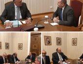 وزير الخارجية يلتقى الرئيس البلغارى فى مستهل زيارته إلى العاصمة صوفا