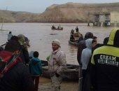 اليمن تعلن تضرر أكثر من 3 آلاف أسرة جراء السيول والأمطار الغزيرة