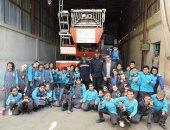 """صور..مديريات الأمن تستضيف عددا من طلاب المدارس ضمن مبادرة """" كلنا واحد"""""""