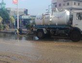 صور.. أمطار رعدية تضرب محافظة الغربية ورفع حالة الطوارئ لشفط المياه