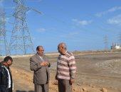 توصيل الغاز الطبيعى لمصنعى فصل الرمال السوداء على مساحة 115 فداناً بكفر الشيخ