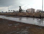 الأمطار الغزيرة تغلق المطارات وتسقط 70 شجرة فى البرازيل