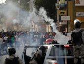 صور.. كر وفر مع تصاعد أعمال العنف فى هايتى للمطالبة بإقالة الرئيس مواز