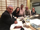 صور.. زاهى حواس يروج للسياحة المصرية فى اليابان