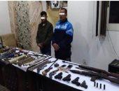 ضبط حداد ونجله يديران ورشة للإسلحة النارية بكفر الشيخ