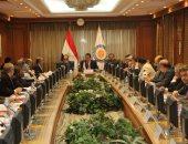 وزير التعليم العالى يرأس اجتماع المجلس الأعلى للمستشفيات الجامعية