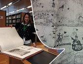 """صور.. قصة 20 كتابا من القرن الـ15 بمكتبة الإسكندرية.. طبعت باستخدام الطباعة الحجرية والقوالب الخشبية وغلفت بجلد الماعز.. """"وصف مصر"""" و""""الكتابة الهيروغليفية"""" أندرها.. ونسخ طبق الأصل من كتاب الموتى وإنجيل كوتنبرج"""