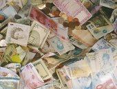 استقرار سعر الدولار والريال السعودى والجنيه الاسترلينى.. وتباين باقى العملات