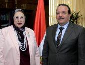 رئيس جامعة طنطا يستقبل عضو لجنة الصحة بمجلس النواب