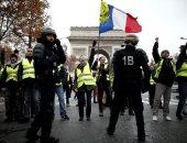 """محتجو """"السترات الصفراء"""" الفرنسيون يحتفلون بالعام الجديد فى نانت"""