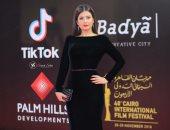 صور.. التونسية رشا بن معاوية صاحبة الإطلالة الأجمل بمهرجان القاهرة
