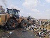 إزالة 152 حالة تعدى على الأراضى الزراعية بالفيوم