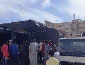 رفع 142 حالة اشغال فى حملة إزالات مكبرة بإدفو