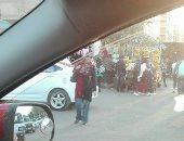 قارئ يشكو انتشار الباعة الجائلين بمنطقة الحصرى فى 6 أكتوبر