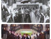 الفرق 88 سنة.. صورة لولى عهد السعودية ونظيره البحرينى تشبه صورة للأجداد