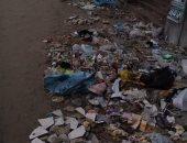 قارئ يشكو انتشار القمامة بميدان ابن الحكم بحلمية الزيتون