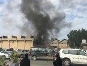 حريق فى وزارة الكهرباء بالكويت.. والجامعة تعلق الدراسة (صور)