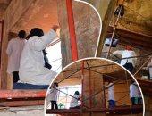 الآثار تنتهى من ترميم الصالة الخارجية وقدس الأقداس فى معبد الأبت بالأقصر