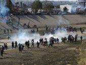 اشتباكات مسلحة بالمكسيك بعد اعتقال نجل امبراطور المخدرات (إل تشابو)