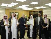 صور.. وزير العدل يستقبل وفدا قضائيا سعوديا للإطلاع على خبرات القضاء المصرى