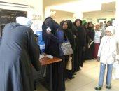 جامعة أسوان تنظم قافلة طبية مجانية بمدينة أسوان الجديدة