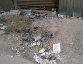 قارئ يناشد بردم الحفر بعد أعمال الكهرباء فى شارع الإبيارى بكوبرى القبة