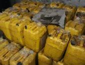 ضبط 12 طن زيت مجهول المصدر بمصنع بالقليوبية