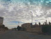 سقوط 4 أعمدة إنارة بإحدى قرى الدقهلية يعيق طريق المواطنين