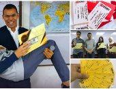 """""""الناجح يرفع تذكرته"""".. مدرس تاريخ يهدى طلابه تذاكر حفلات غنائية لتشجيعهم"""