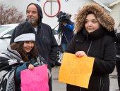 مظاهرات بمدرسة أمريكية أثناء زيارة رئيس أبل وايفانكا ترامب بسبب الآيباد