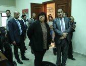 وزيرة الثقافة تفتتح مكتبة المترجم الجديد بمقر مركز القومى بدار الأوبرا